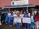 Педиатрите от специализираната детска болница излязоха на трети по ред протест