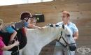 Деца с увреждания от Сливен ходят на хипотерапия