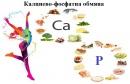 Калциево-фосфатна обмяна