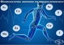 Физиологично значение на микроелементите