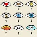 Изберете око от изображението и научете скрити тайни за вашата личност