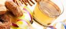 Финландска пролетна напитка с лимон и стафиди