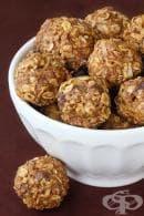 Бонбони с кокос и ленено семе