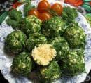 Кашкавалени хапки с маслини и зелени подправки