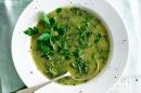 Крем супа от броколи и кейл