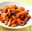 Мариновани моркови с мед и сок от лайм