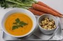 Морковена крем супа с джинджифил и куркума