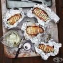 Гриловани картофи с билково масло