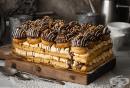 Еклерова торта Наполеон