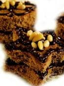 Пандишпанови кексчета с кафе, ядки и шоколад