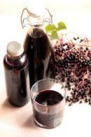 Напитка от бъз с ароматни подправки