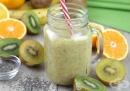 Насърчете имунитета с напитка от киви, банан и портокал