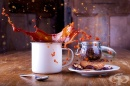 Как да премахнем петна от кафе по дрехите
