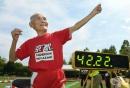 На 105 години, той продължава да поставя световни рекорди в леката атлетика