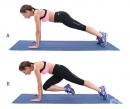 Супер домашна тренировка за средна и долна част на тялото