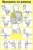 Програма за здрави и масивни рамене