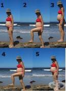 Степ аеробика за бременни