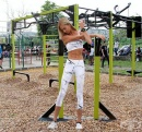 Лесна тренировка на лостове за жени