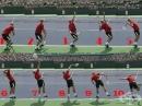 Стъпки за изпълнение на силен сервиз в тениса