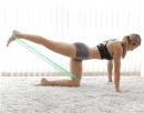 Упражнения с ластична лента за дупе и бедра със страхотни резултати
