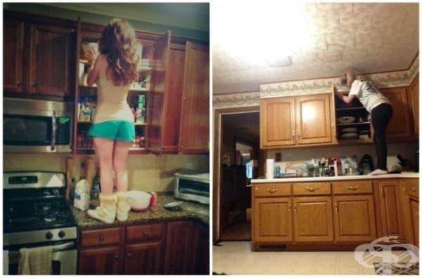 Приготвянето на храна е истински предизвикателство за мен.