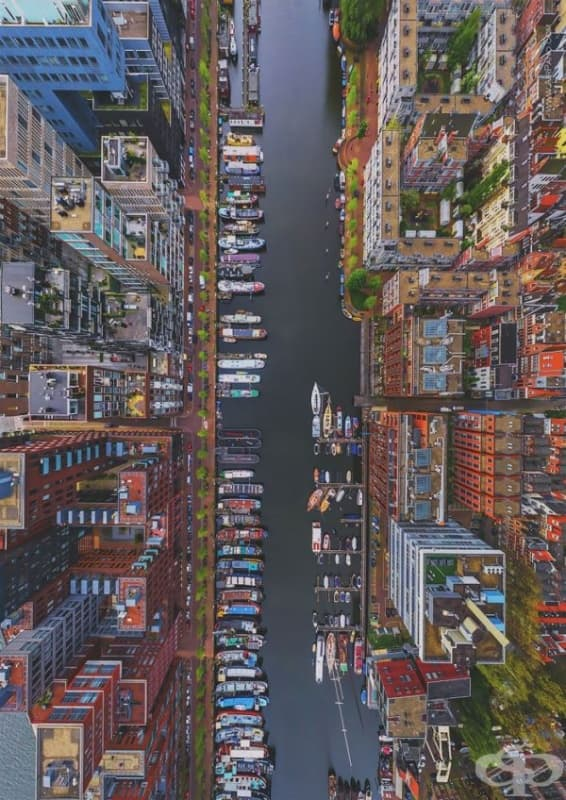 Район Уестердок в Амстердам, Холандия.