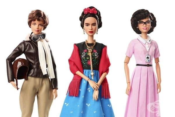 Компанията пусна серия на кукли на известни личности от миналото и настоящето.
