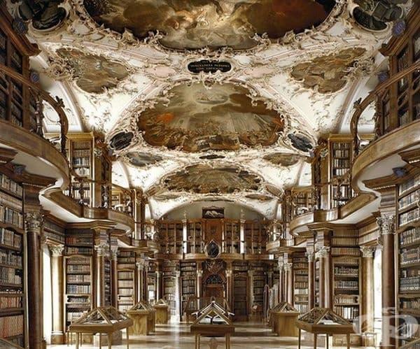 "Библиотека ""Сен Гален"", Швейцария."