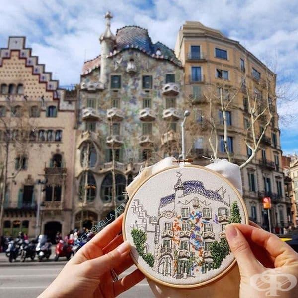 Каса Батийо, Барселона