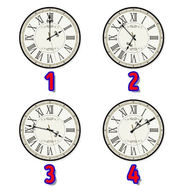 Посочете кой часовник е различен