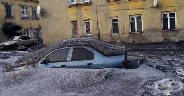 Жителите на Прокопевск, Киселевск и Ленинск-Кузнецк споделят, че през зимата е по-вероятно да се види черен сняг, отколкото бял.