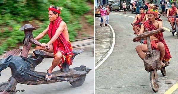 Тези мотопеди вдигат скорост до 40 км/ч.