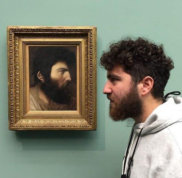 """""""Открих своя образ в музей на изкуствата в Цюрих""""."""