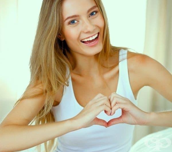 Сърцето на жената бие по-бързо от това на мъжа.