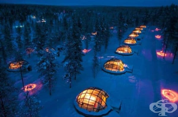 Hotel Kakslauttanen, Финландия