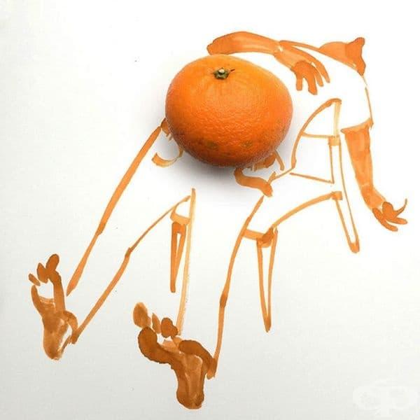 20 илюстрации, съчетани с предмети от ежедневието