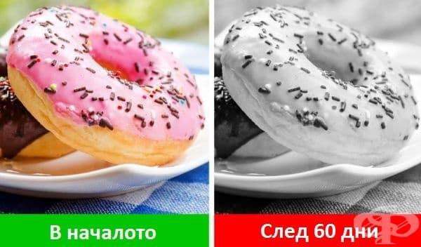 Вкусовите възприятия се притъпяват. Според проучвания наднорменото тегло оказва влияние върху вкусовите рецептори като ги притъпява с 25%. Хората консумират повече с надеждата да усетят отново наситения вкус на любимите си храни.