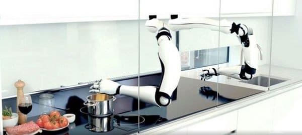 Майстор-робот-готвач във вашата кухня. Moley е първата в света роботизирана кухня. Напълно автоматизирана кухня с фурна, котлони, мивка и най-важното - робот-готвач с изключителни кулинарни умения.