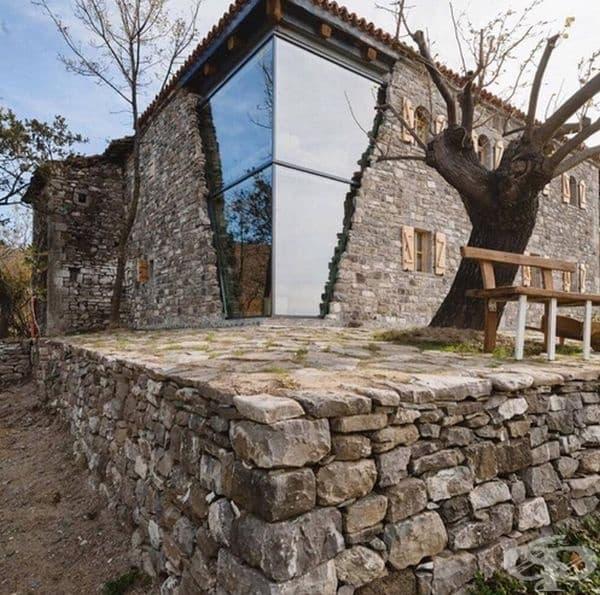 Mrizi i Zanave - къща за гости, ресторант и агроферма в Албания.