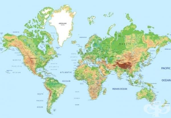 Това е нормална карта. Нека се абстрахираме от нея.