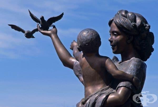 Майка и син, Сейнт Джордж, САЩ.