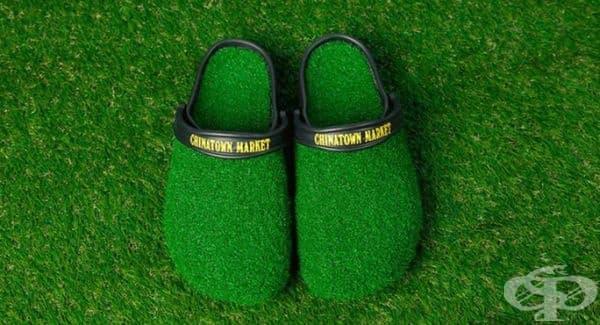 """Кроксове тип """"боси по тревата"""" са новият хит сред обувките"""