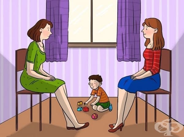 Открийте коя е майката на детето