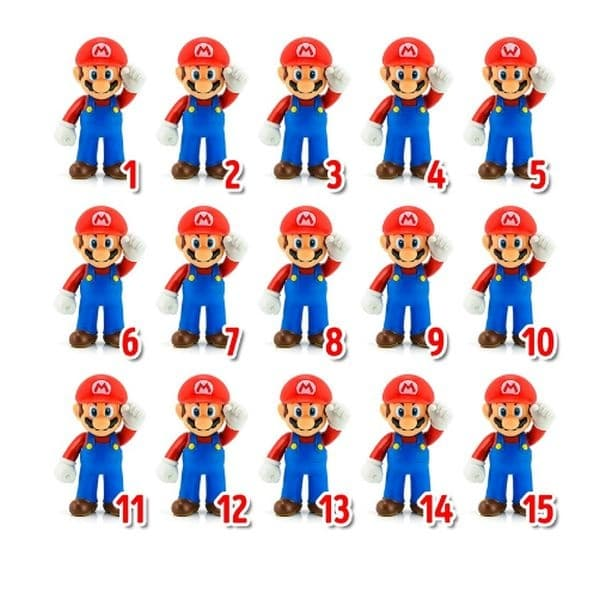Открийте различния Супер Марио