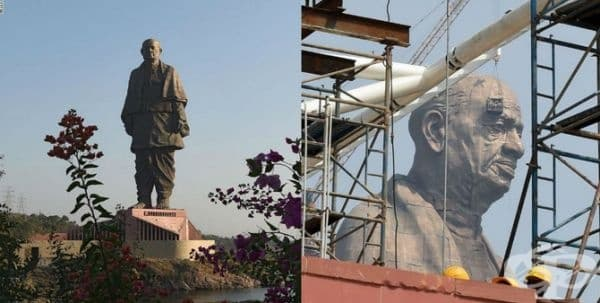 В Индия откриха най-голямата статуя в света