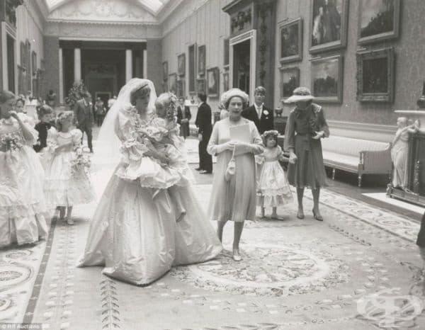 Сватбата на принцеса Даяна и принц Чарлз, 1981.