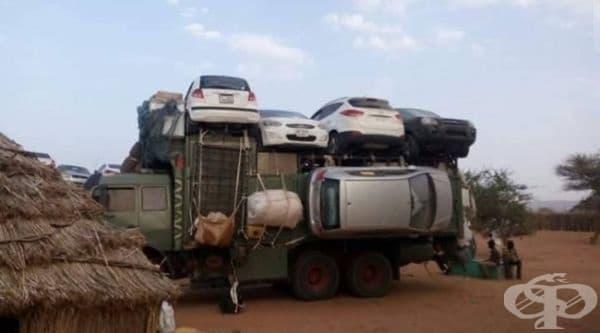 Африкански технологии за трафик на коли.