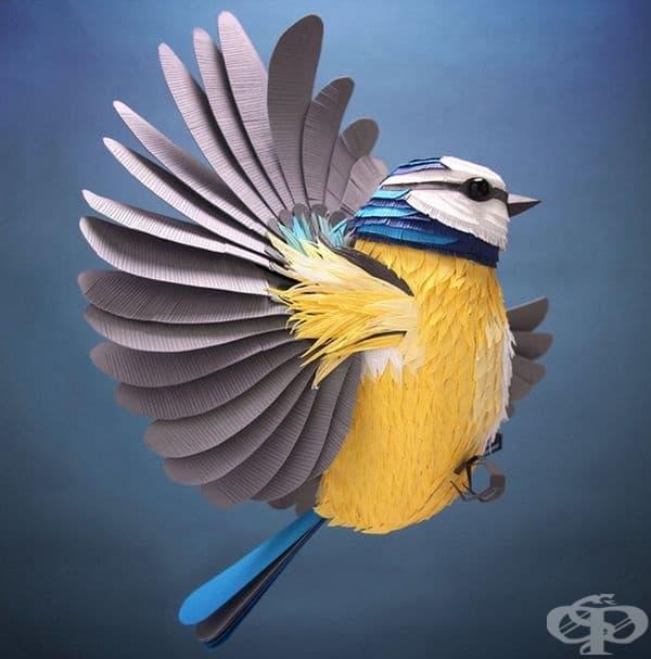 15 снимки на уникални 3D оригами на птици и животни