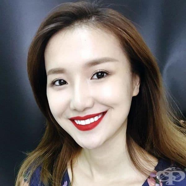 Запознайте се с Хе Йухонг. Ето така изглежда тя преди трансформациите.