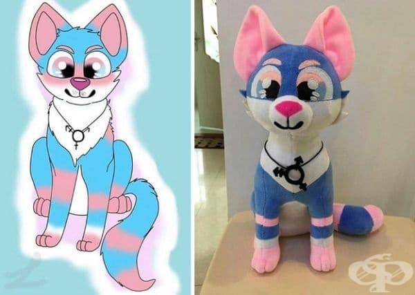 Компания превръща детските рисунки във фантастични плюшени играчки